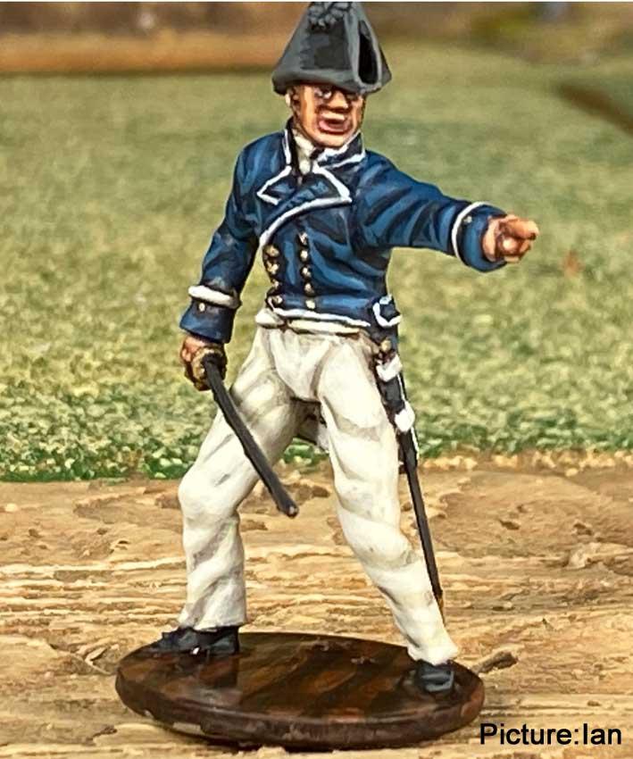 Navy-officer Ian