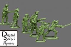 Prussian Jaegers back