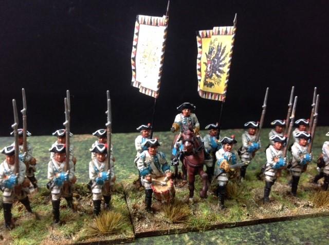 Seven Year War Austrian Infantry 2