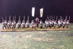 Seven Year War Austrian Infantry_front