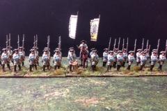 Seven Year War Austrian Infantry